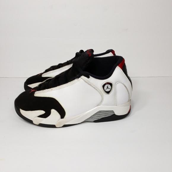 Jordan Other - Nike Air Jordan XIV 14 Black Toe Sz 1.5 Y